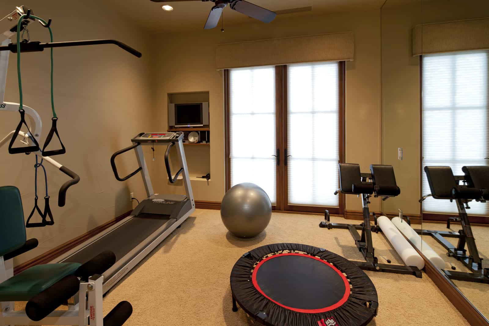 adding-a-basement-gym-to-your-home
